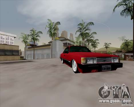 Chevrolet Opala Diplomata 1986 for GTA San Andreas back view