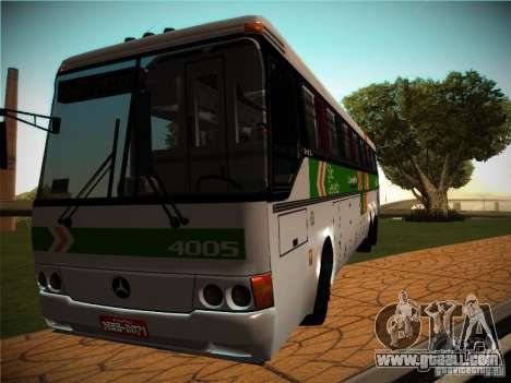 Mercedes-Benz O400 Monobloco for GTA San Andreas back left view