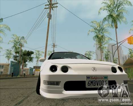 Acura Integra for GTA San Andreas right view