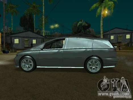 Perennial of GTA 4 for GTA San Andreas back left view