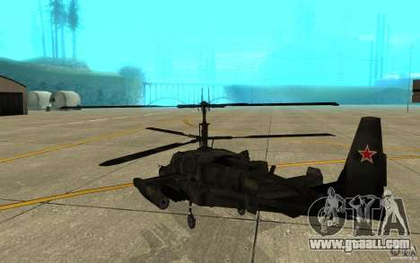 Kamov KA 50 Dlack Shark for GTA San Andreas right view