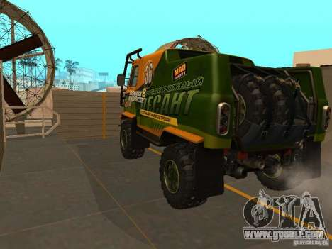 UAZ 2206 Expedition for GTA San Andreas right view