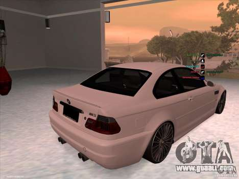 BMW M3 for GTA San Andreas right view