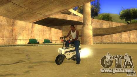 Honda Motocompo for GTA San Andreas