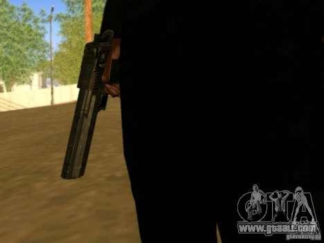 Desert Eagle MW3 for GTA San Andreas forth screenshot