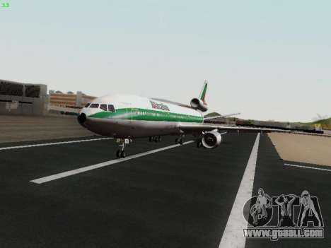 McDonell Douglas DC-10-30 Alitalia for GTA San Andreas back view