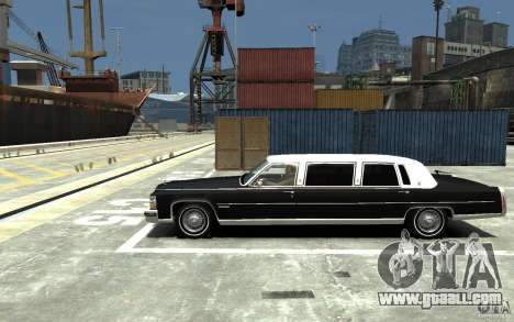 Cadillac Fleetwood Limousine 1985 [Final] for GTA 4 left view