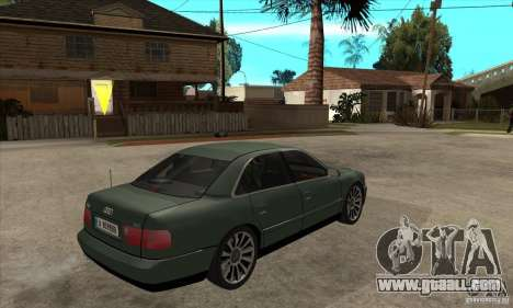 Audi A8 Long 6.0 2000 for GTA San Andreas right view
