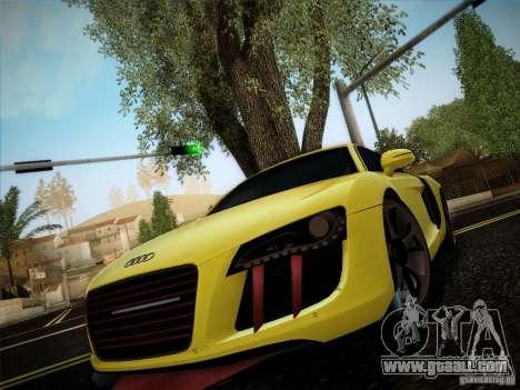 Audi R8 custom for GTA San Andreas