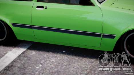 Chevrolet Chevette 1.6 1993 for GTA 4 bottom view