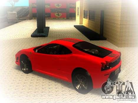 Ferrari 430 Scuderia TT Black Revel for GTA San Andreas left view