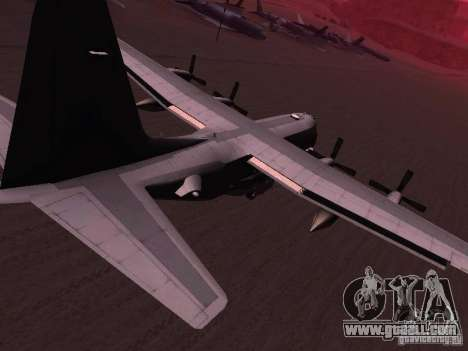 AC-130 Spooky II for GTA San Andreas left view