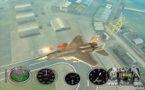 Rocket quick launch to Hydra and Hunter for GTA San Andreas third screenshot