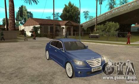 Hyundai Genesis for GTA San Andreas right view