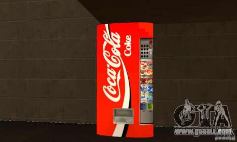 Cola Automat 3 for GTA San Andreas