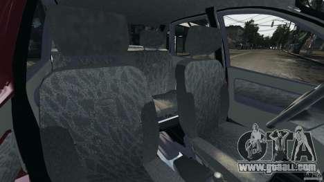 Vaz-1118 Kalina v1.1 for GTA 4 inner view