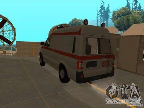 UAZ Simba SC ambulance for GTA San Andreas left view
