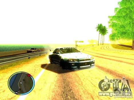 Nissan Skyline B324R for GTA San Andreas left view