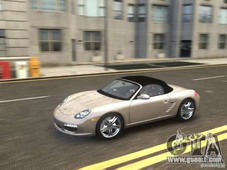 Porsche Boxster S 2010 EPM for GTA 4 right view