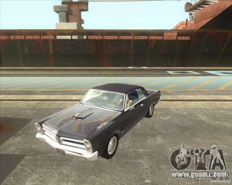 Pontiac GTO 1965 for GTA San Andreas