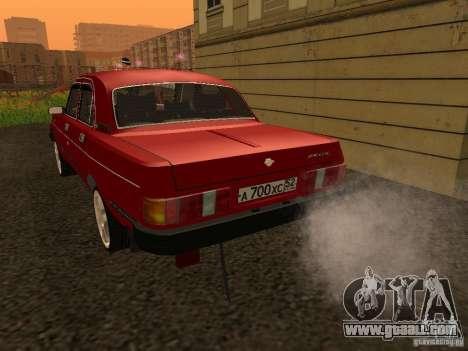 Volga GAZ 31029 Sl for GTA San Andreas right view
