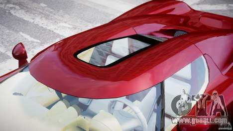 Koenigsegg CCRT for GTA 4 bottom view