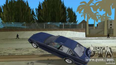 BMW 540i e34 1992 for GTA Vice City side view