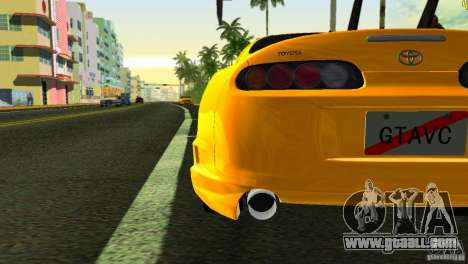 Toyota Supra JZA80 C-West for GTA Vice City side view