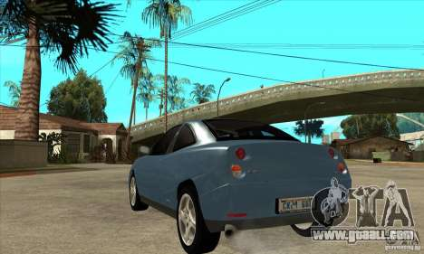 Fiat Coupe - Stock for GTA San Andreas back left view