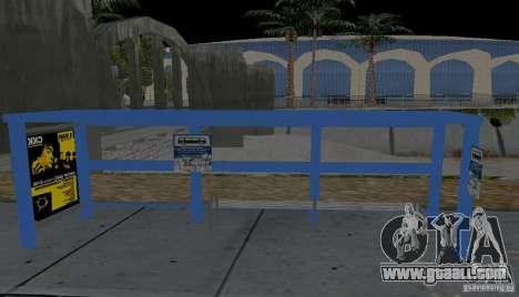 New bus stop for GTA San Andreas third screenshot