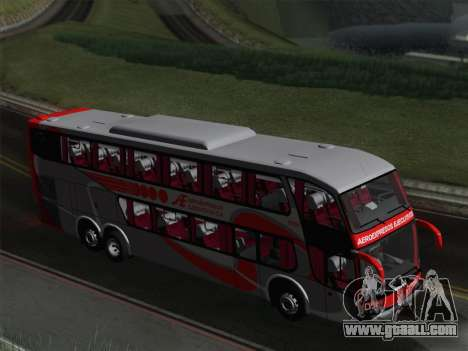 Marcopolo DD800 Volvo B12R for GTA San Andreas wheels