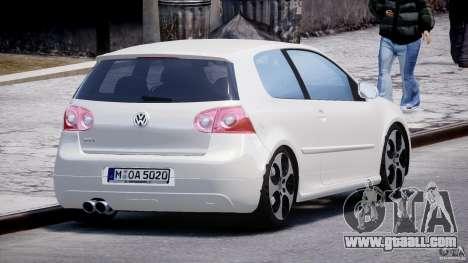 Volkswagen Golf GTI 2006 v1.0 for GTA 4 side view