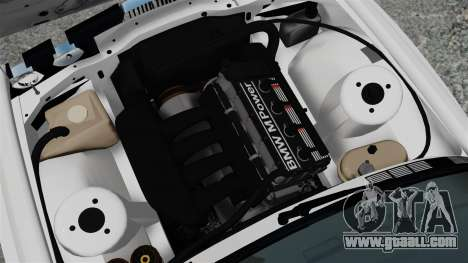 BMW M3 E30 v2.0 for GTA 4 back view