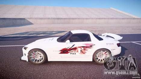 Honda S2000 Tuning 2002 3 Skin calm for GTA 4 left view