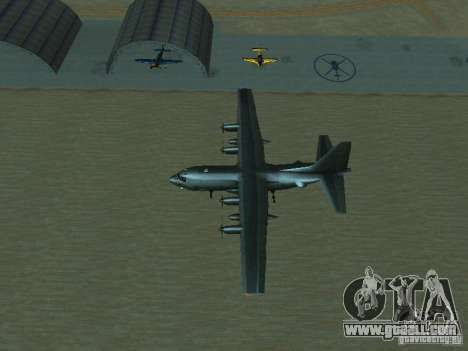 AC-130 Spooky II for GTA San Andreas upper view