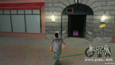 Opportunity to enter the interiors for GTA Vice City forth screenshot