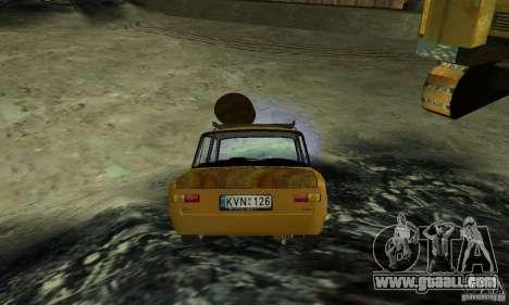 VAZ 2101 RAT LOOK for GTA San Andreas left view