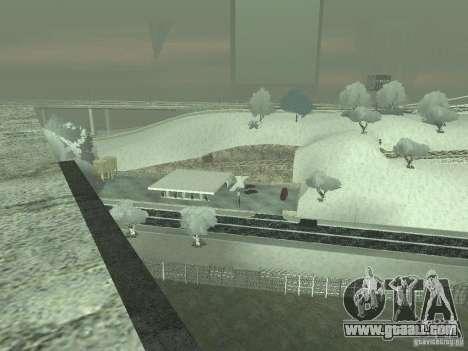 Snow v 2.0 for GTA San Andreas sixth screenshot