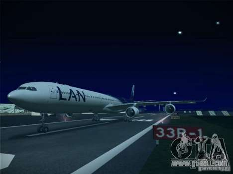 Airbus A340-600 LAN Airlines for GTA San Andreas