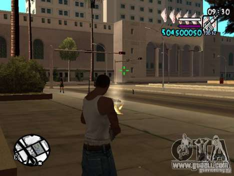 HUD by Hot Shot v.2 for GTA San Andreas