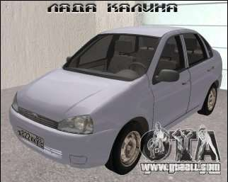 Lada 1118 for GTA San Andreas