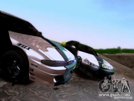 Nissan Silvia S14 Matt Powers v4 2012 for GTA San Andreas side view