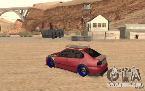 Seat Toledo 1999 Tuned for GTA San Andreas back left view
