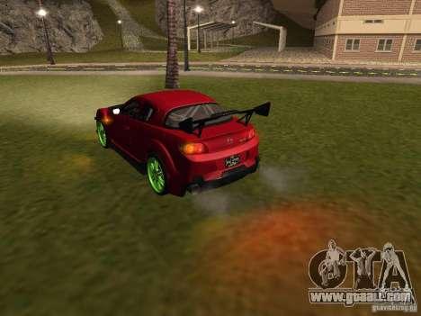 Mazda RX-8 R3 Tuned 2011 for GTA San Andreas interior