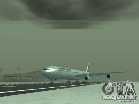 Airbus A340-300 Air France for GTA San Andreas