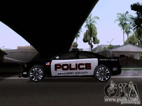 Dodge Charger SRT8 2011 V1.0 for GTA San Andreas left view