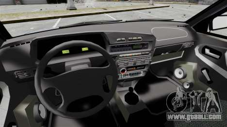 Vaz-2114 v1.1 for GTA 4 inner view
