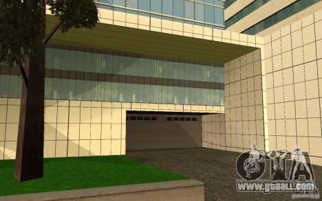 UGP Moscow New General Hospital for GTA San Andreas fifth screenshot