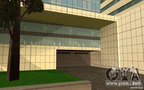 UGP Moscow New General Hospital for GTA San Andreas fifth screenshot