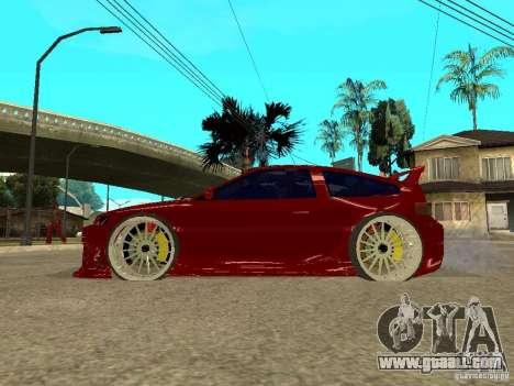 Honda CRX ED9 for GTA San Andreas left view